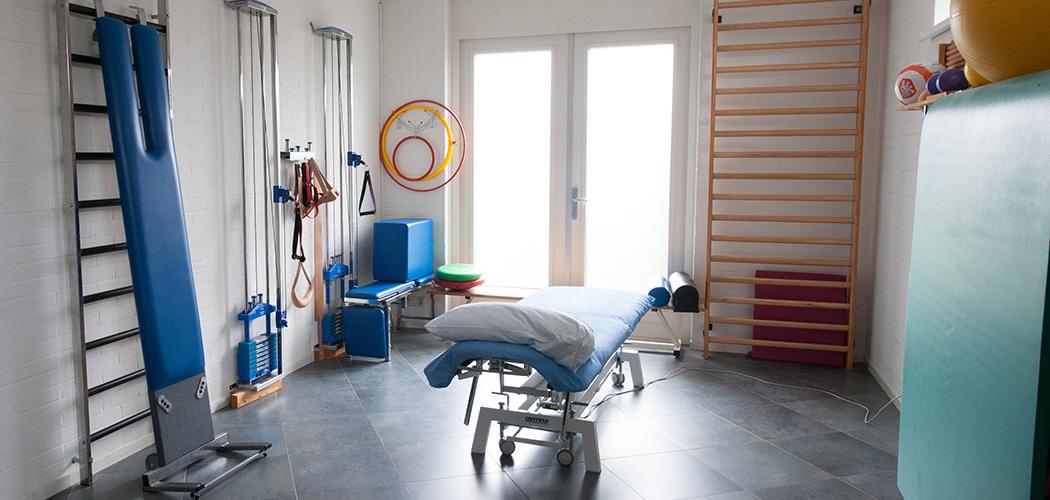Fysiofit Bruinisse behandelkamer